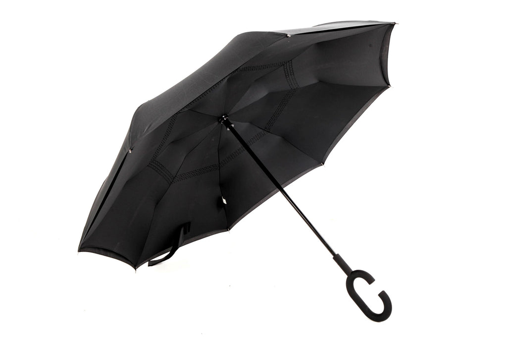 Reverse Umbrella -Handle - Windproof