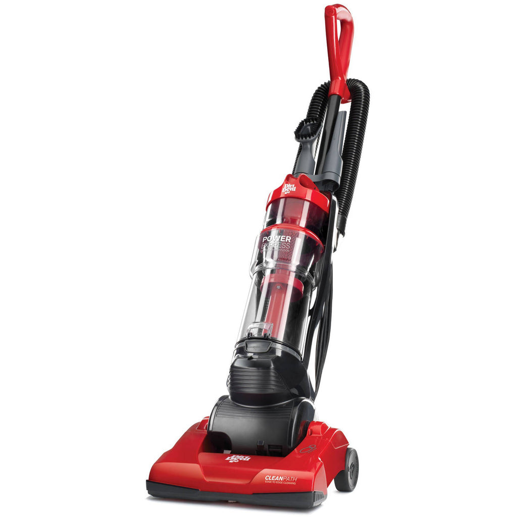 Dirt Devil Power Express Upright Bagless Vacuum, Red