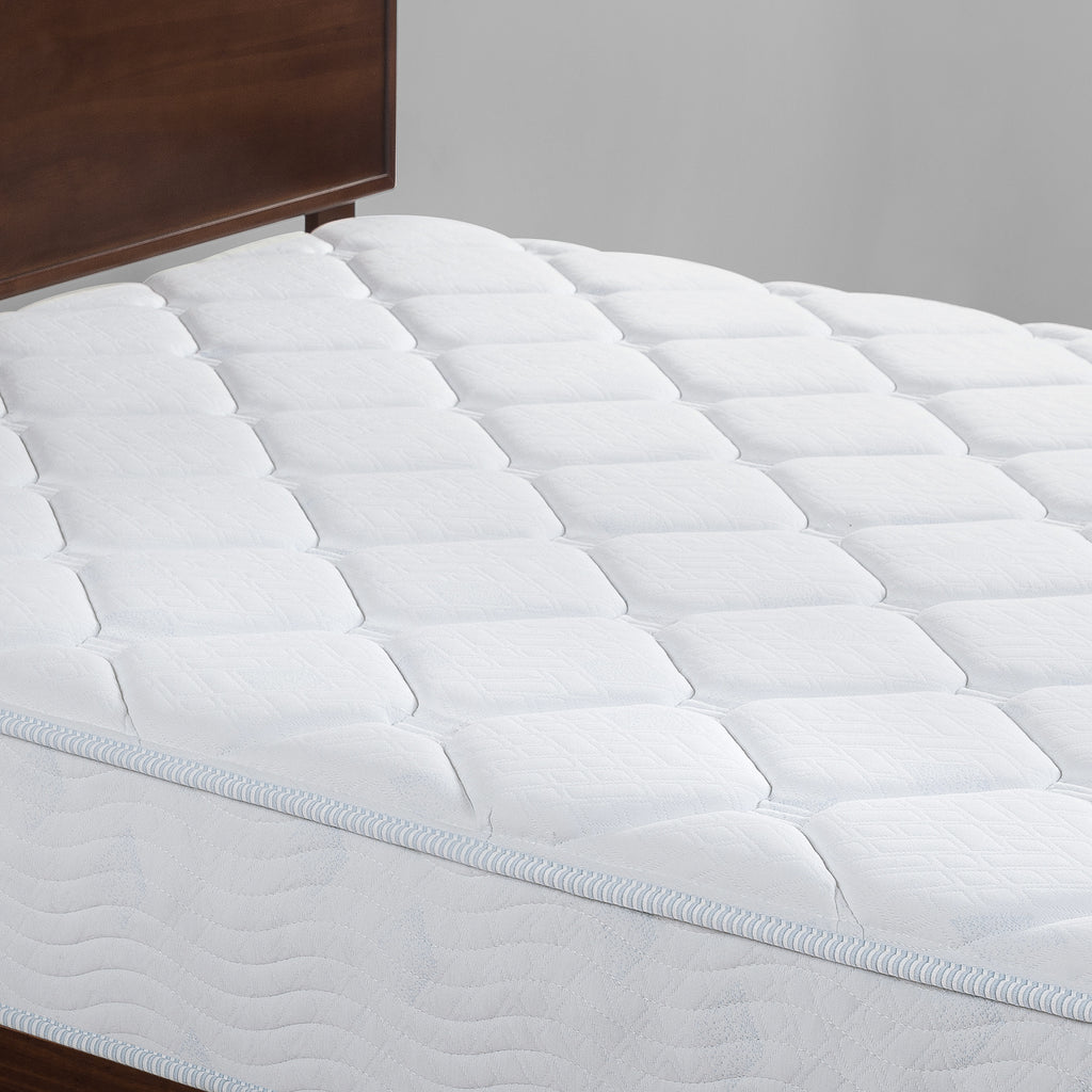 "Slumber 1 by Zinus - Cooling Fusion Gel and Spring Hybrid Mattress, 10"", Full"