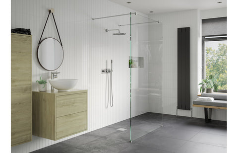Reflexion Iconix Walk Through Wetroom Panel & Arm *options available*