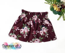 Load image into Gallery viewer, Burgundy Floral