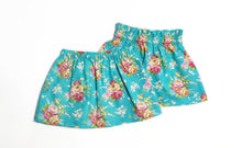 Load image into Gallery viewer, Aqua Floral Skirts (RTS)