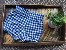 Load image into Gallery viewer, Navy Gingham