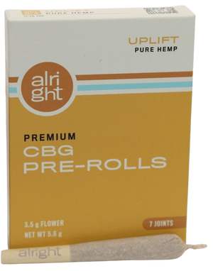 UPLIFT CBG hemp joints - alright™