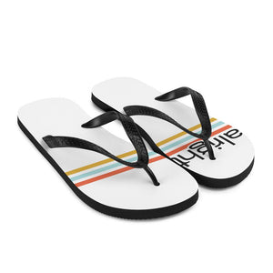 striped out flip flops (unisex) - alright™
