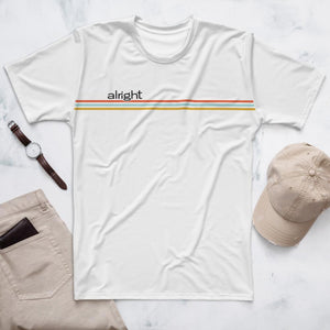 striped out men's t - alright™