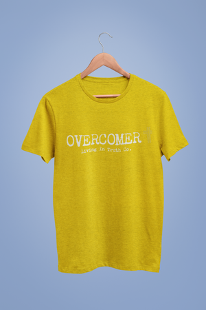 Overcomer- Ladies Cotton Tee