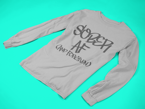 Sober & Forgiven- Men's Long Sleeve