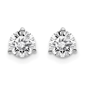1cttw Lab Grown Diamond Stud Earrings