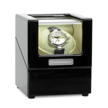 Load image into Gallery viewer, Steinhausen Heritage Onyx Finish Single Watch Winder