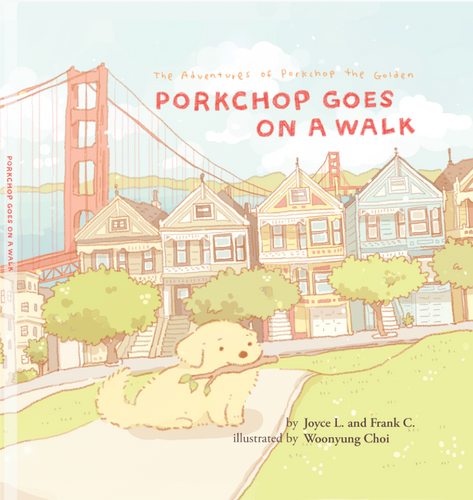 Porkchop's Illustrated Hardcover Book - 40% OFF!