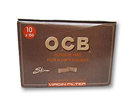 FILTROS DE ALGODON OCB SLIM VIRGIN 6MM