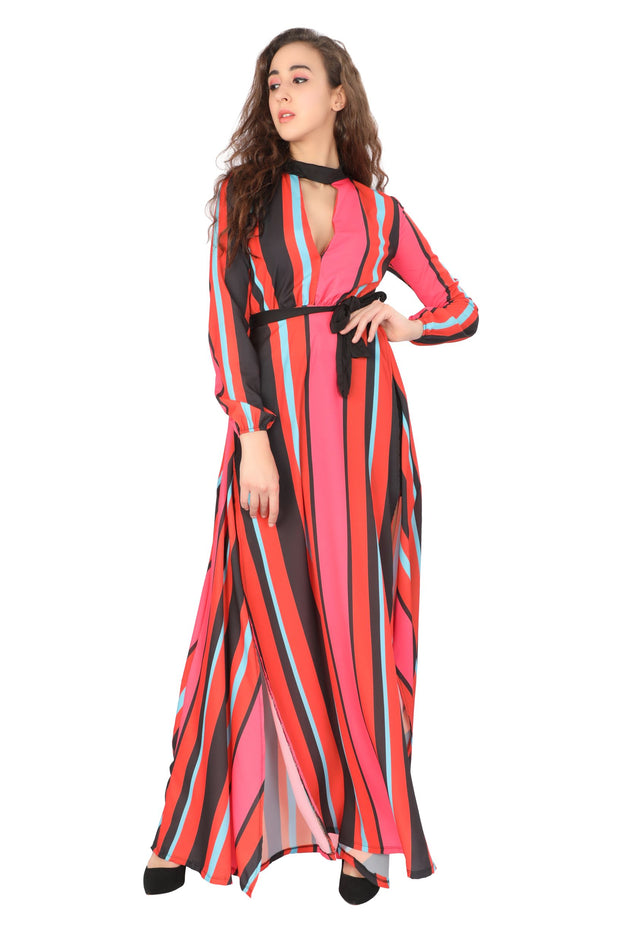 Colourful STRIPES Dress
