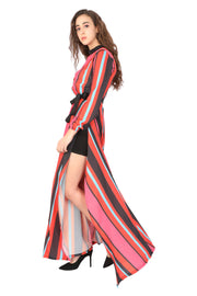 Stripes Dress - Addery.co.in