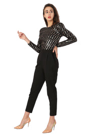 Stripes SEQUIN Jumpsuit