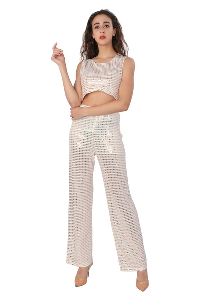 Sequin Knot Co-ord - Addery.co.in