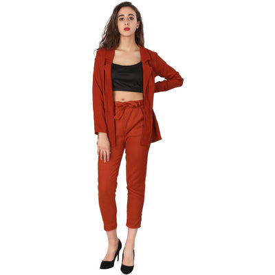 Long Blazer Set
