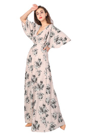 Floral Gown - Addery.co.in