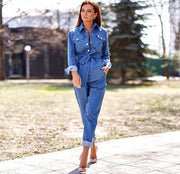 Denim Jacket Set