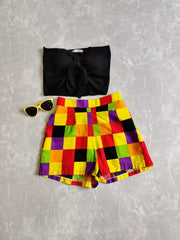 Summer Checkered Shorts - Addery.co.in