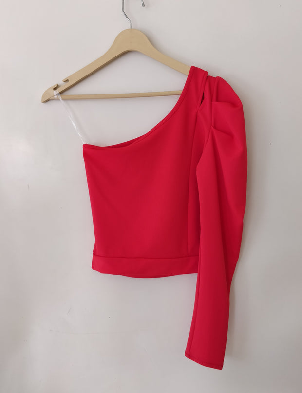 Shoulder Cut Top | Addery Fashion House - Addery.co.in