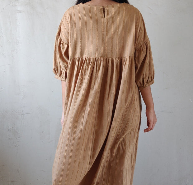 Solid Summer Dress - Addery.co.in