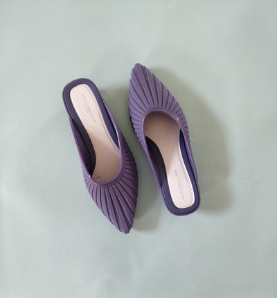 Stripe Cone Footwear - Addery.co.in