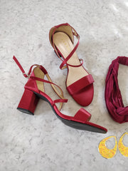 Red Sandals - Addery.co.in
