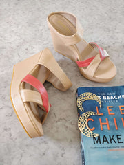 Beige Wedges - Addery.co.in