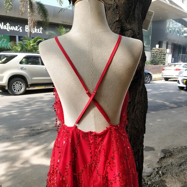Sequence Cross Back Dress