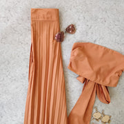 Tie-up Pleated Co-ord - Addery.co.in