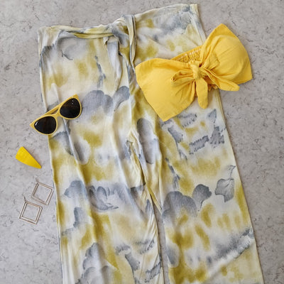 Tie & Dye Smock Tube Set - Addery.co.in