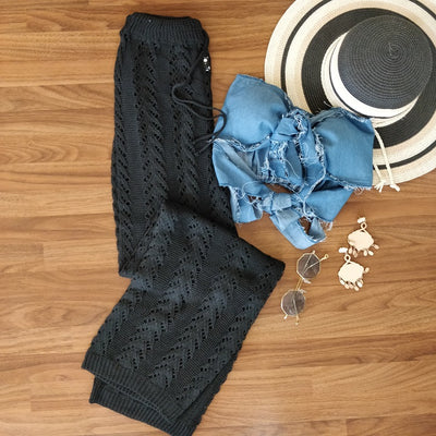 Crochet Sheer Pants