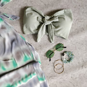 Mint Tie & Dye Smock Tube Set