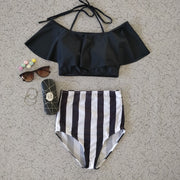 Zebra Stripes Swimsuit