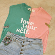 Love Your Self Casual Top