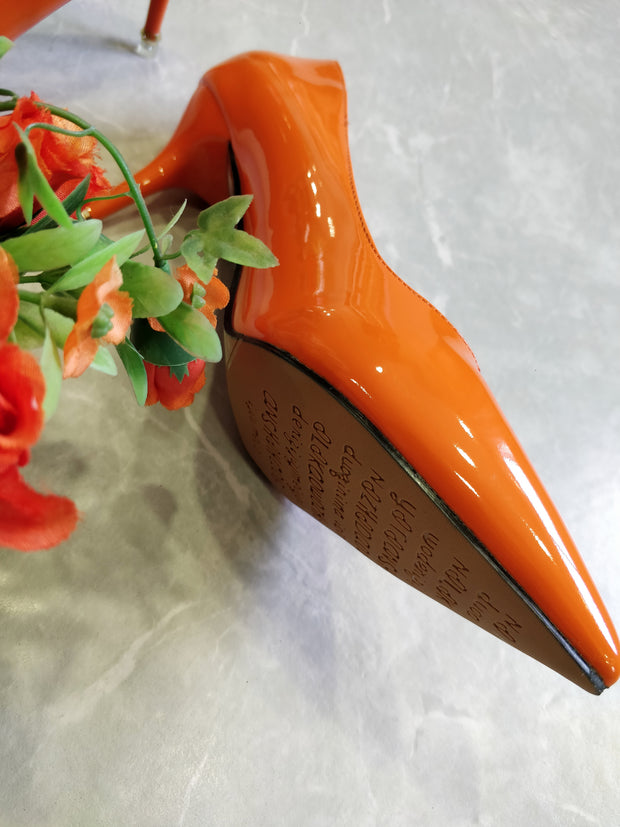 Orange Stilettos - Addery.co.in