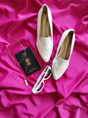 FORMAL WHITE SHOES