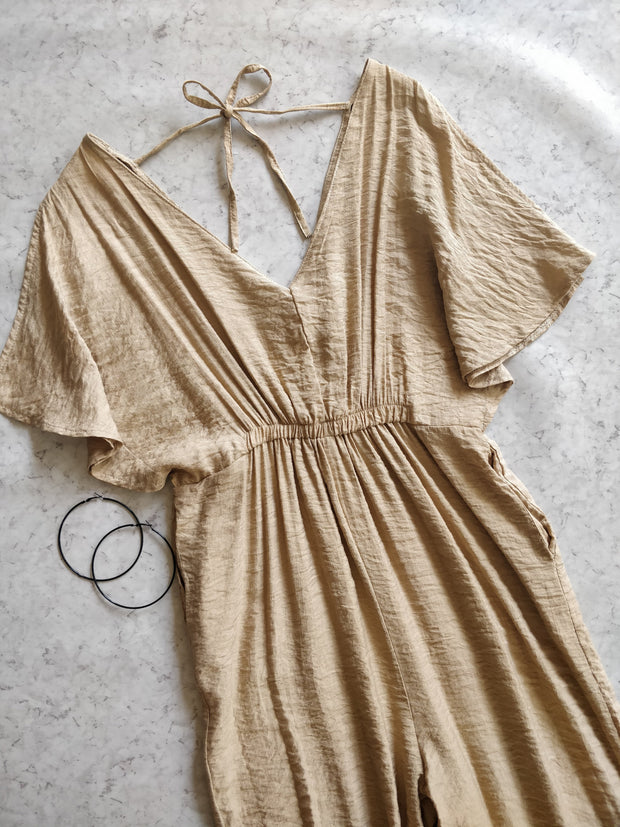 PEANUT Brown  Jumpsuit