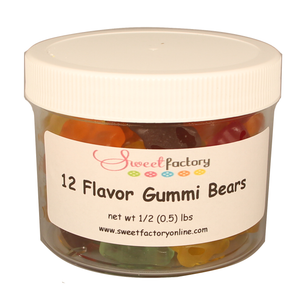 12 Flavored Gummi Bears