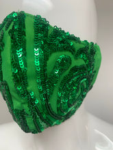 Load image into Gallery viewer, GREEN SEQUINS