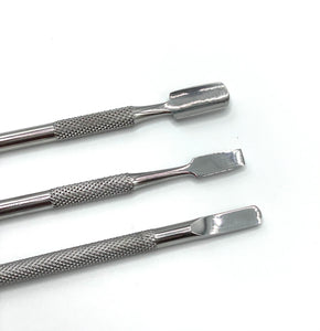 Double Ended Cuticle Pusher (Triple Pack)