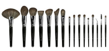 Load image into Gallery viewer, Complete Brush Set Including Black Acrylic Organiser