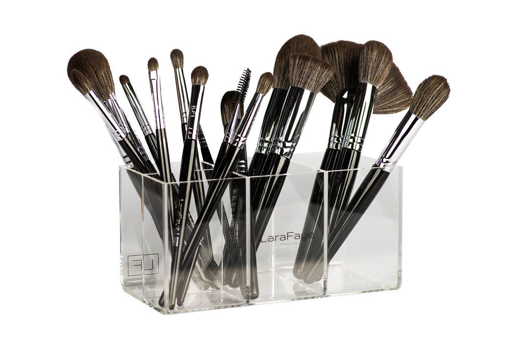 Acrylic Brush Organiser (Clear)