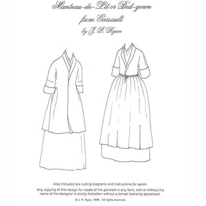 JP Ryan Manteau-de-lit or Bedgown Pattern