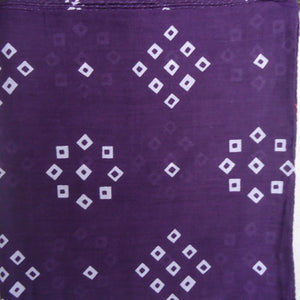 "Dark Purple ""Spot'd"" Handkerchief"