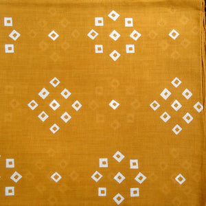 "Yellow Gold ""Spot'd"" Handkerchief"