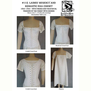 Laughing Moon Ladies Regency & Romantic Era Corset