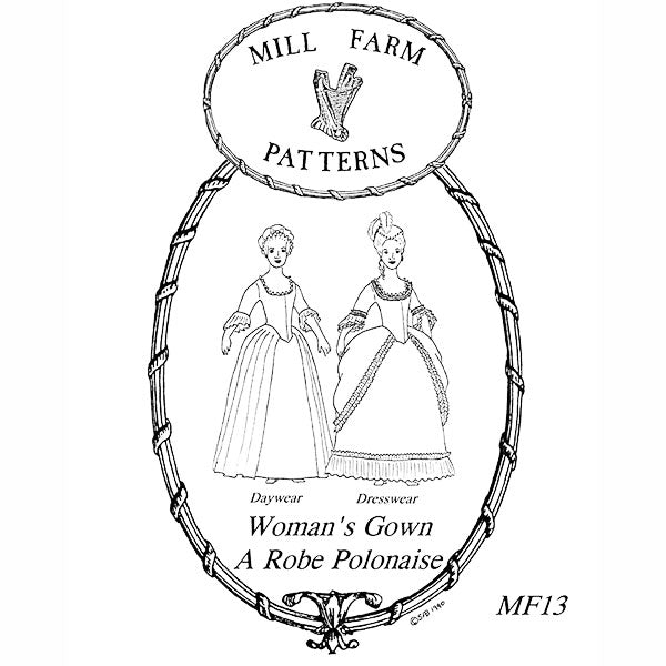Mill Farm Gown Pattern
