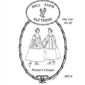 Mill Farm Casaque 1720-1750 Pattern